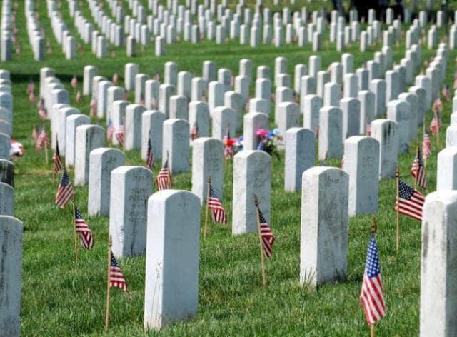 Cemitério de Arlington em Washington