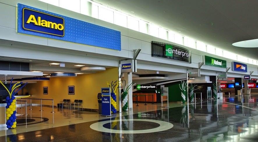 Locadoras de carro no aeroporto